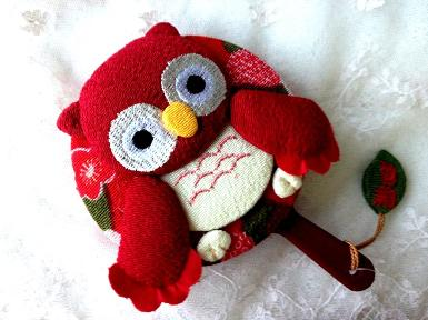 Out of Stock !  Mirror Pocket : Red Owl ( ซื้อ 1 แถม 1 ในราคาที่เท่ากัน )