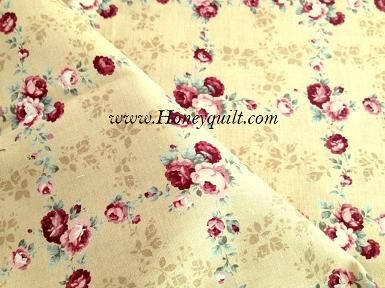 New ! Light Brown Antique Square Rose
